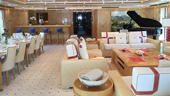 Yacht Interior Cleaing